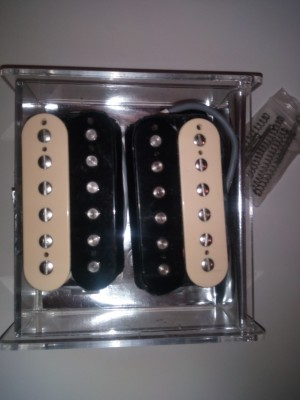 Pastillas Gibson Classic 57 cebra.