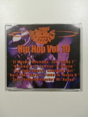 Jota Mayúscula CD Mixtape hip hop vol 10