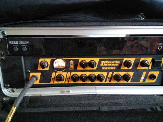 "Amplificador bajo Markbass (cabezal y pantalla 4x 10"")"