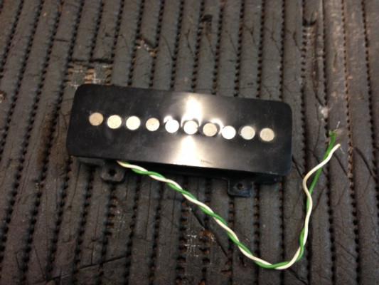 Pastillas de guitarra, bajo y pedal steel.