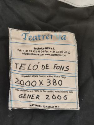 TELON FONDO NEGRO