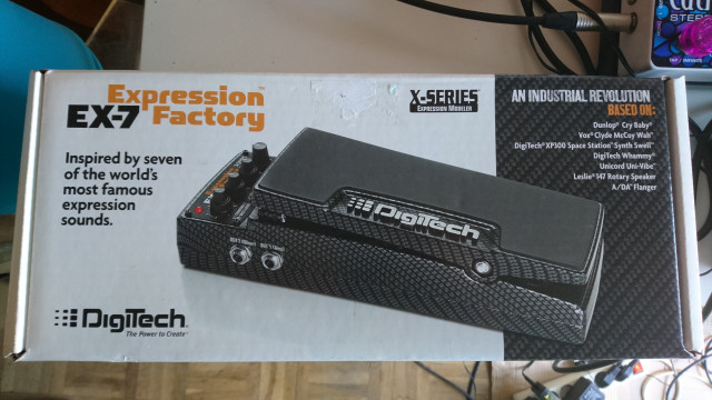 Digitech EX-7 (acepto cambios) VIDEO DENTRO!!