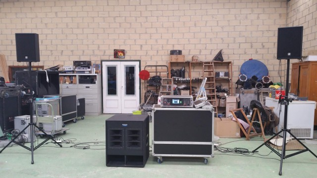 3000W increíble sonido para D.J
