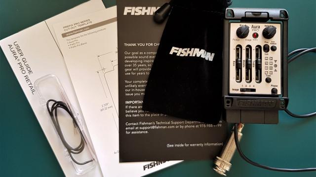 Fishman Aura Pro (PRO-MAN-P81) Nuevo