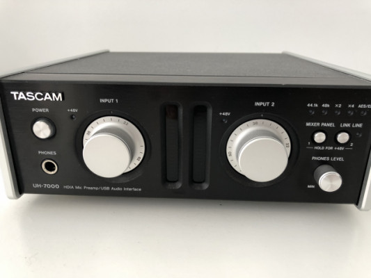 Interfaz audio USB TASCAM UH-7000