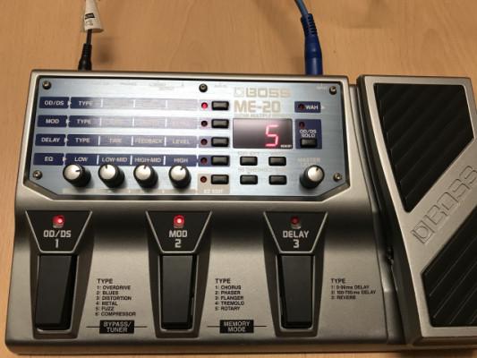 Pedalera Boss ME-20 con AC Incluido