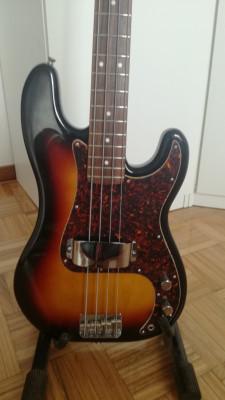 Vendo bajo Fender Precision Japonés Reedición 62 Poliuretano