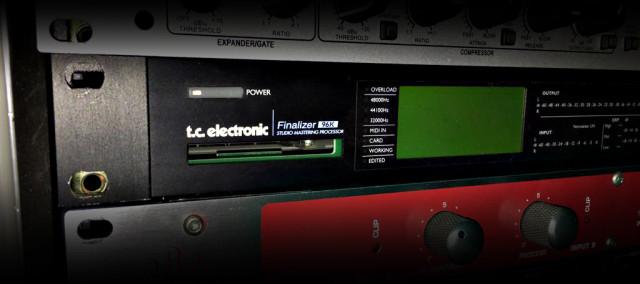 TC Electronic Finalizer 96K Hardware de Masterización