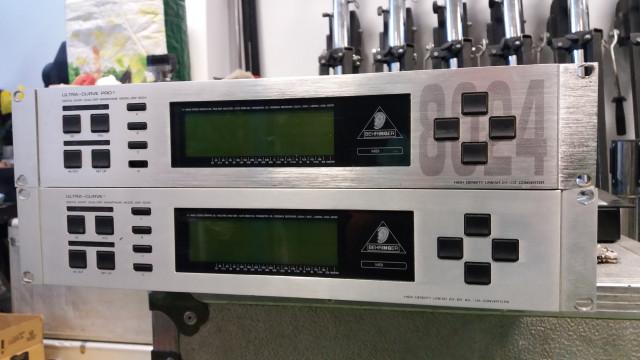 Behringer Ultra Curve Dsp 8024 y Dsp 8000