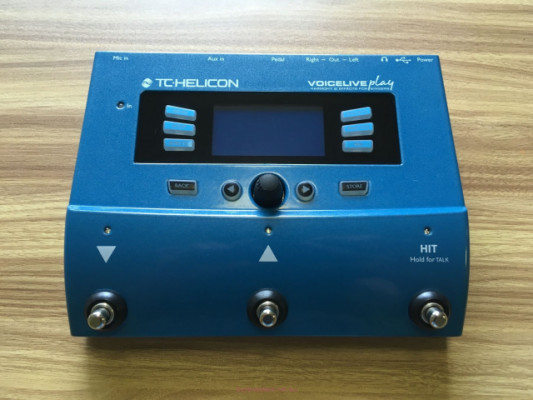 Voiceplay live TC Helicon