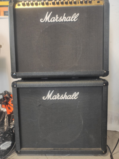 Marshall valvestate 100 watios + pantalla  Marshall vs112