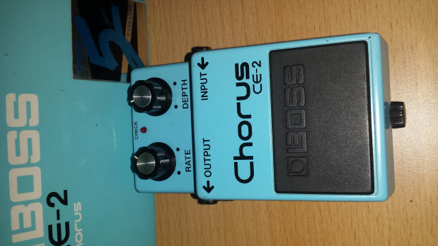BOSS CE2 JAPAN GREEN LABEL