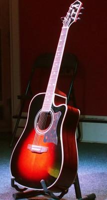 Guitarra acústica Epiphone DR-500MCE VS