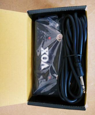 VOX VFS2A pedal para ACs y mas