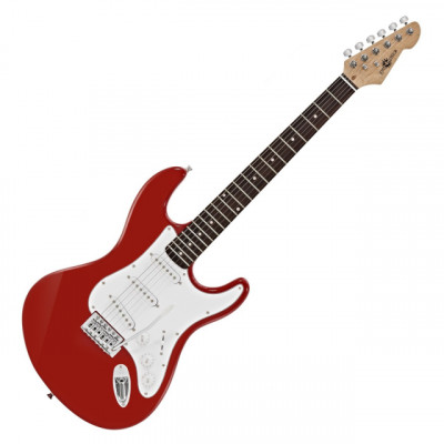 Guitarra Eléctrica LA Rojo