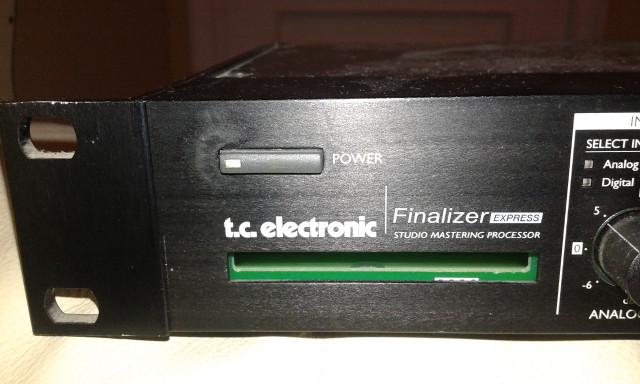 Masterizador TC ELECTRONICS FINALIZER EXPRESS.