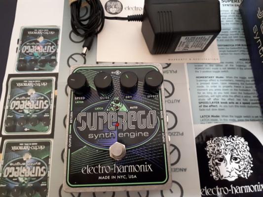Vendo pedal superego synth engine(RESERVADO)