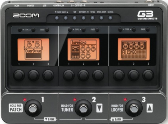 Pedalera Zoom G3
