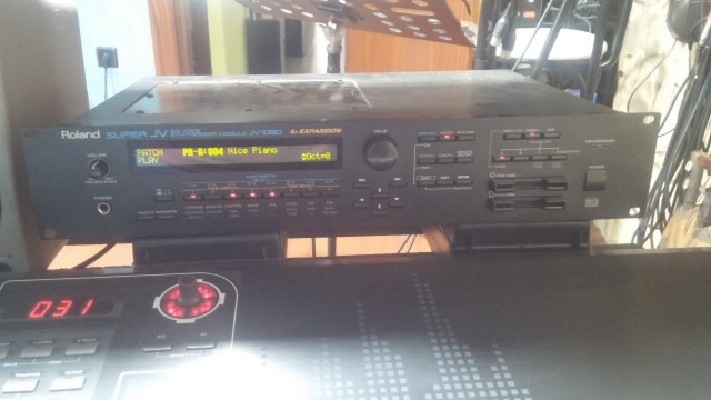 Roland jv 1080 + CME UF7 76