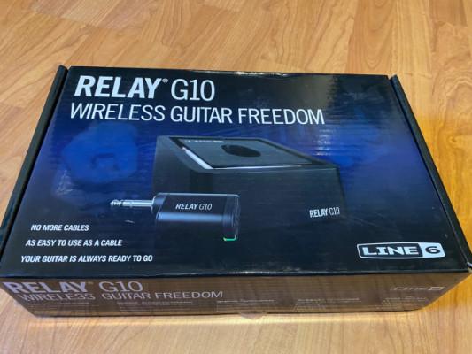 Relay G10 con transmisor G10TII nuevo