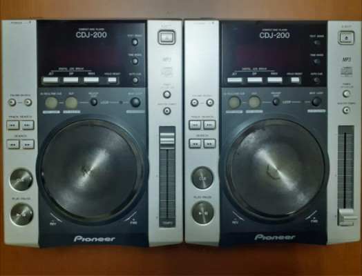 Reproductor dj pioneer cdj 200