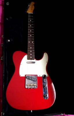 Fender Telecaster classic 60 2012 roja