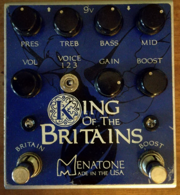 Menatone King of the Britains