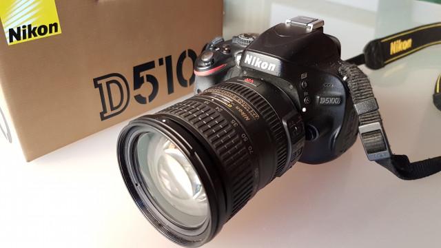 Nikon D5100 + Nikkor 18-200 VR