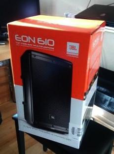 JBL EON 610 + FUNDA+ ENVÍO INCLUIDO.