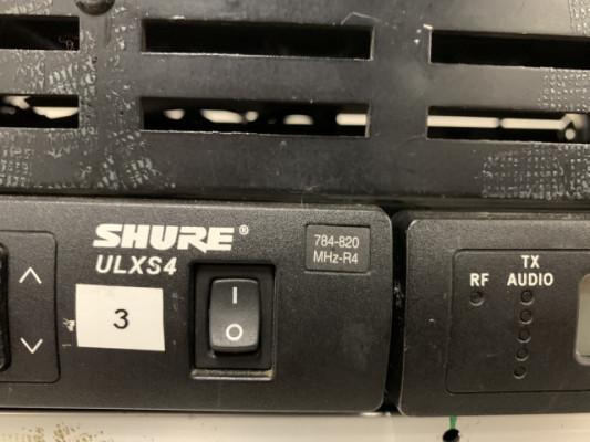 Rack Shure inalambrico