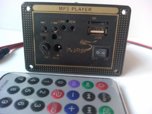 AMPLIFICADOR MINI 15W . MP3 PLAYER. USB.