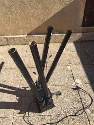 LANZADOR CONFETTI 4 SHOT DMX DIGITAL