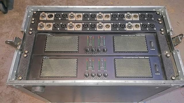 Etapas de potencia 8x800w