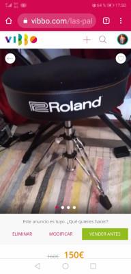 Taburete y Stand Roland