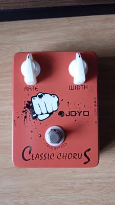 Joyo JF-05 Classic Chorus. True Bypass.