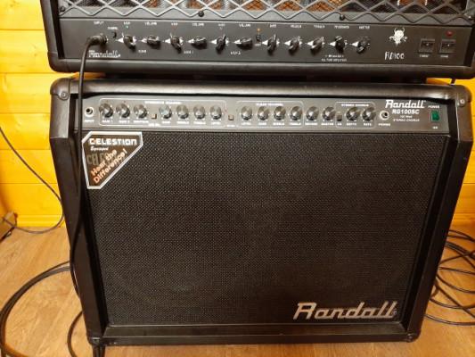 Randall RG100SC modificado