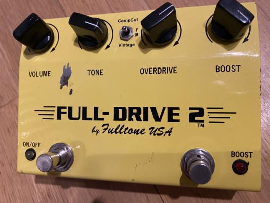 Fulltone fulldrive 2 yellow