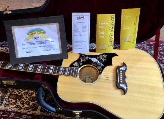 Gibson Custom Shop dove 50th Anniversary historic replica