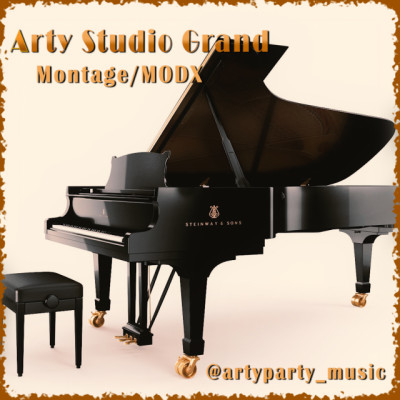 Librería Arty Studio Grand para Yamaha MONTAGE, Yamaha MODX