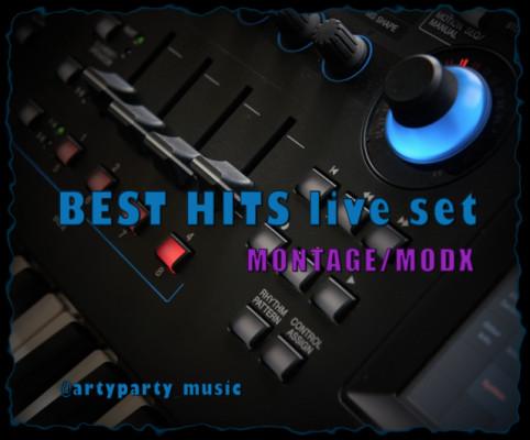 Librería BEST HITS live set / Yamaha MONTAGE/ MODX