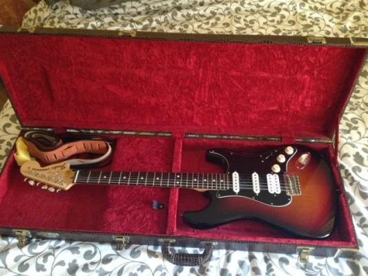 Fender stratocaster American Special con Lollar blackface y shur