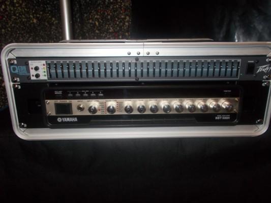 Rack/Amplificador Yamaha BBT500H+Ecualizador Peavey Q1311