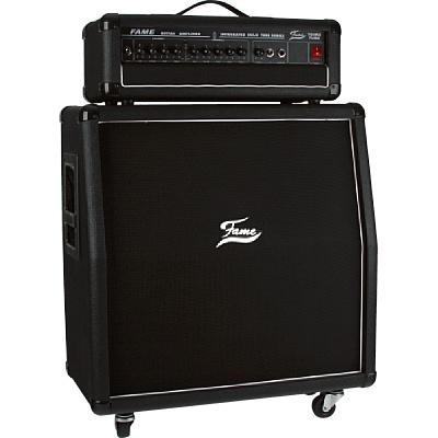 Amplificador de Guitarra Fame T-64 RS. Cabezal + pantalla. 65W