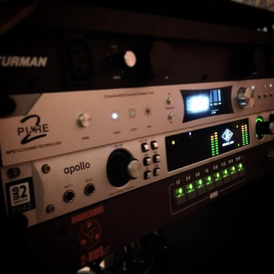 Universal Audio Apollo QUAD FW y TB