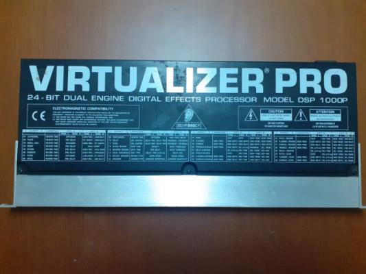 Módulo efectos dj behringer virtualizer pro