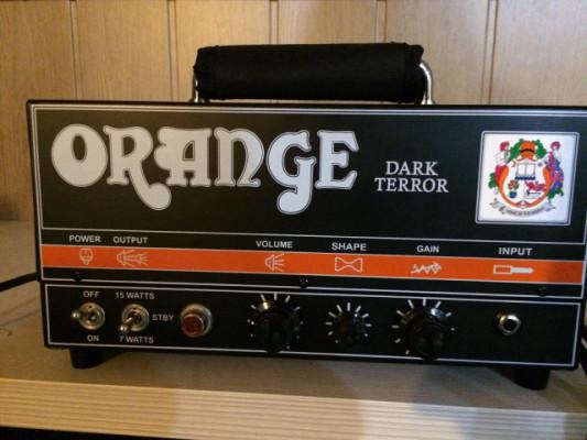 Cabezal para guitarra Orange Dark Terror