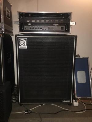 Ampeg B2R + Korg DTR-1000