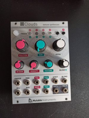 clouds Sintetizador de texturas mutable-instruments