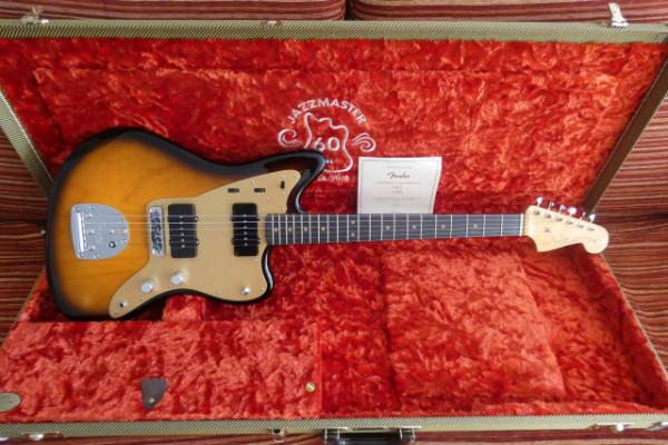 Fender Jazzmaster 60th USA Limited Edition.