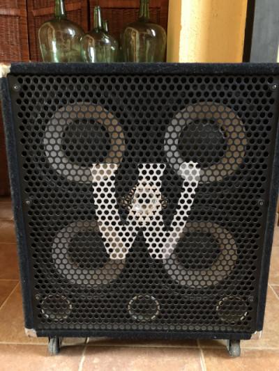 Pantalla de bajo Warwick w411 PRO 600w 8ohms
